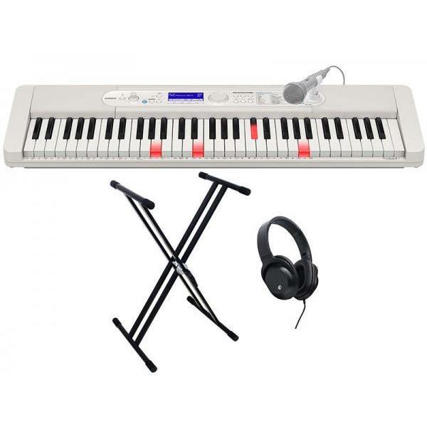 CASIO(カシオ) 光ナビ キーボード 61鍵盤 LK-520 練習セット 1