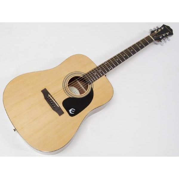 Epiphone(エピフォン)DR-100NAT アコースティックギターbyギブソン  セール特価ピックホルダープレゼントp71