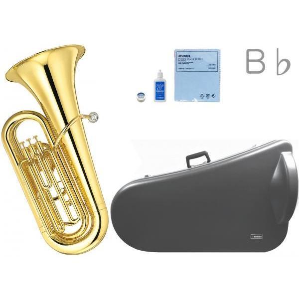 YAMAHA(ヤマハ) YBB-105 新品 B♭ チューバ 3ピストン 日本製 ラッカー 管体 ピストンチューバ 管楽器 tuba 北海道 沖縄 離島 代引 不可