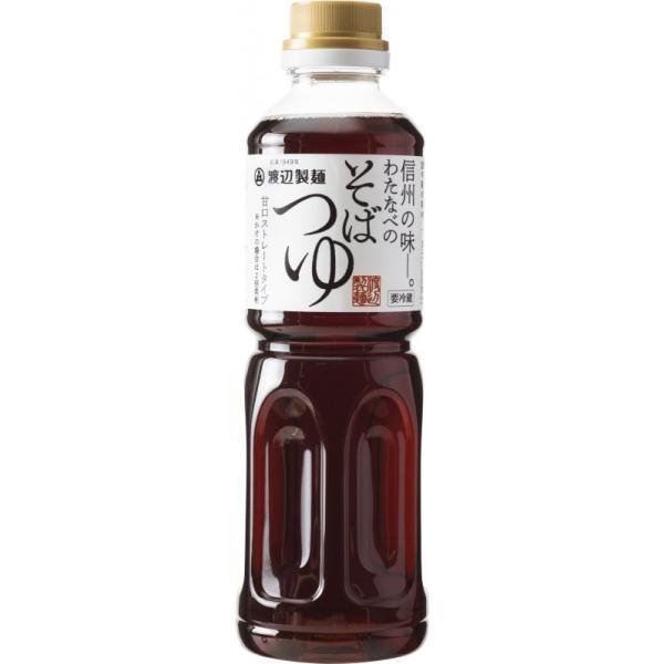 そばつゆストレート500ml『蕎麦つゆ/甘口』