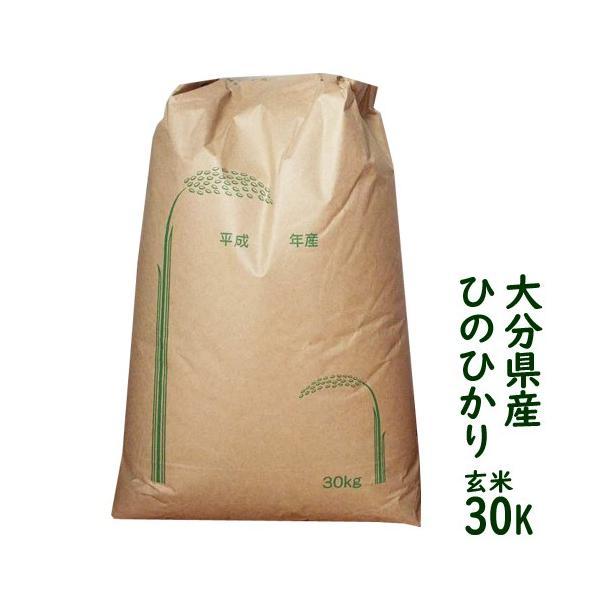 大分県産 ひのひかり 30kg 白米・玄米をご選択下さい 送料無料セール