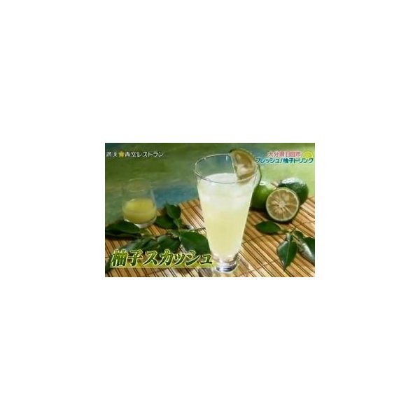 ゆず酢 ゆず果汁 柚子果汁 100% 1キロ 業務用 九州産ゆず|watasyoku|02