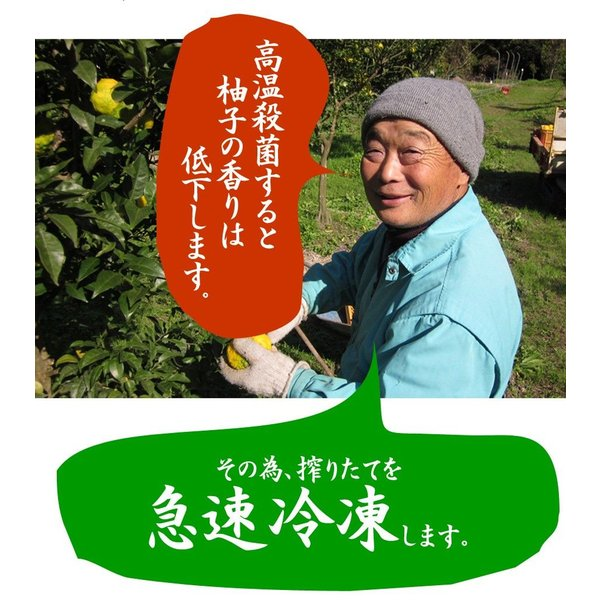 ゆず酢 ゆず果汁 柚子果汁 100% 1キロ 業務用 九州産ゆず (9/26から順次出荷)|watasyoku|06