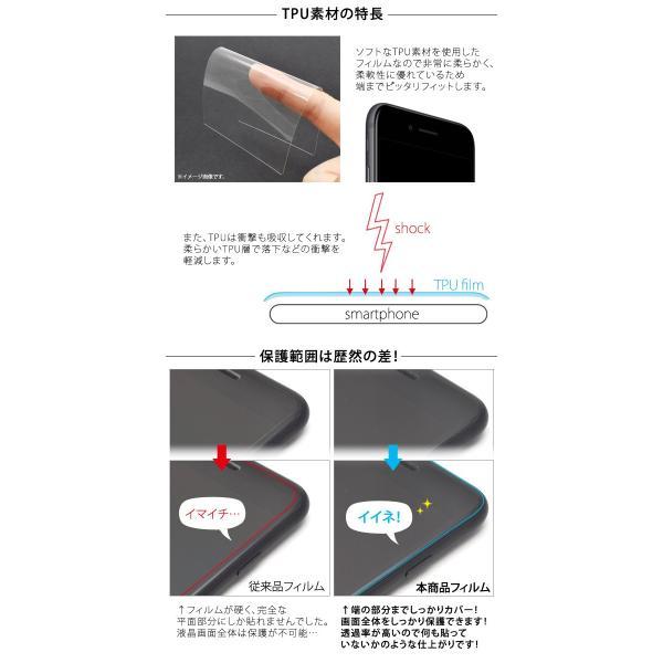 AQUOS sense SH-01K/SHV40/SH-M05用 液晶全面保護TPUフィルム アクオスセンス アクオスセンスライト|watch-me|03