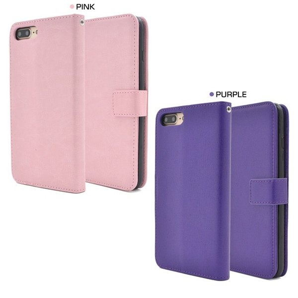 アイフォンケース iPhone7Plus/iPhone8Plus(5.5インチ)用 カラーレザーケースポーチ アイフォン7PLUS アイフォン7プラス アイフォン8PLUS アイフォン8プラス|watch-me|06