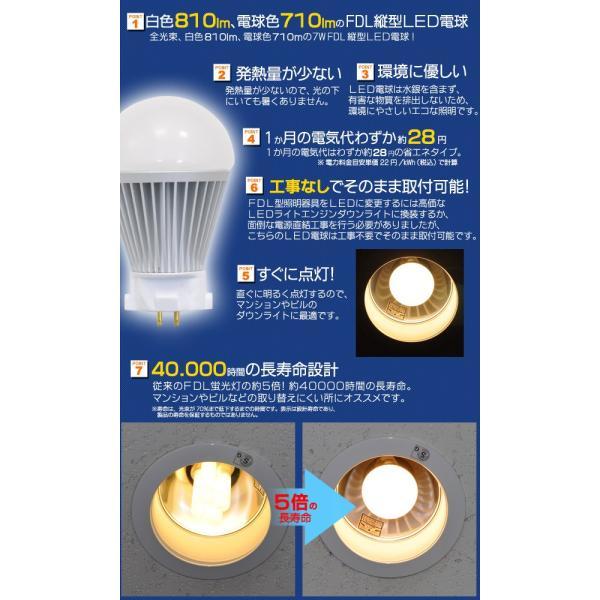 FDL縦型用7WLED電球|watch-me|03