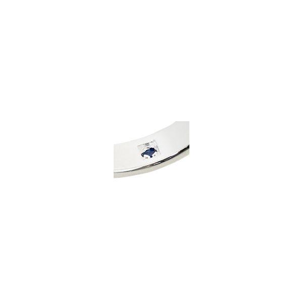 ペアリング(Pure Blue) アラベスクシルバーリング 刻印無料指輪