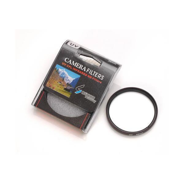 カメラフィルター カメラ用UVカット フィルター AF対応(フィルター径:58mm)