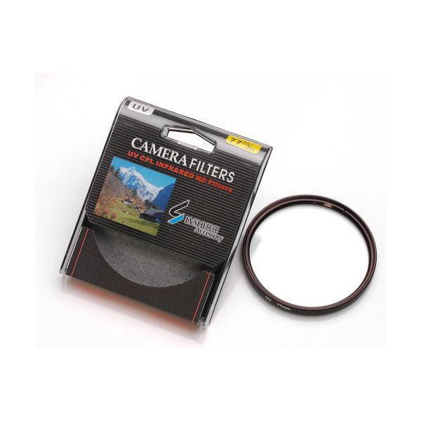 カメラフィルター カメラ用UVカット フィルター AF対応(フィルター径:77mm)