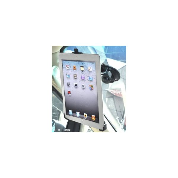 新しいiPad・iPad2対応 真空吸盤付きアームスタンド|watch-me|02