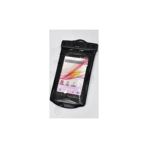 【サマーセール】大型タイプ 汎用スマートフォン 防水ケース アクア・ウォーター ポーチ パック バック (アウトドア/マリン/海/プール/サマー/ウィンター)|watch-me|02