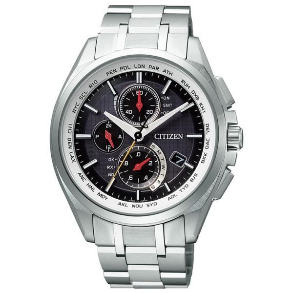 腕時計 シチズン アテッサ AT8040-57F メンズ サンウルブズコラボ 800本限定 ソーラー電波時計 正規品 watch-moonf