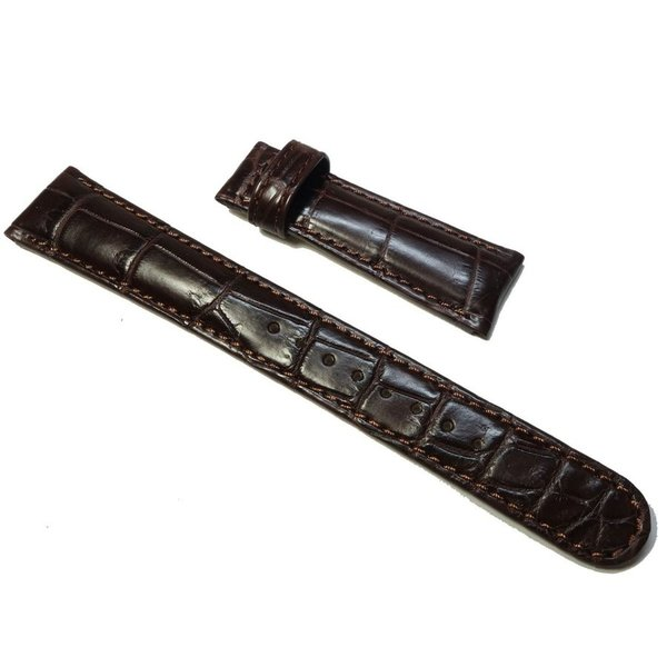 19mm DEY9AW 時計ベルト グランドセイコー 純正ベルト クロコダイル 焦げ茶 バックル専用 正規品