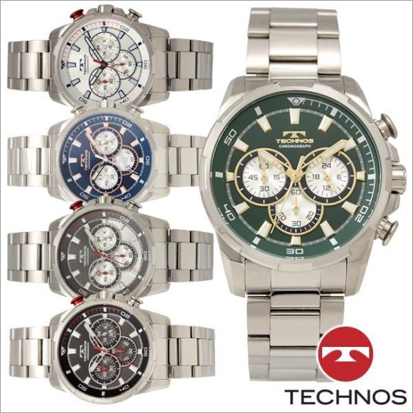 48ba98d086 テクノス T8667 オールステンレスモデル クロノグラフ 腕時計 メンズ TECHNOS 正規品 アウトレット|watch- ...