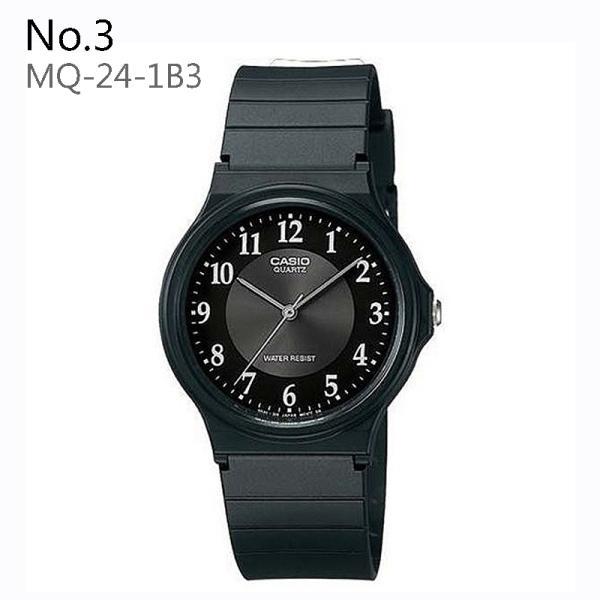 【10年保証】[送料無料] CASIO カシオ  MQ-24シリーズ チープカシオ チプカシ プチプラ メンズ レディース 腕時計 [ネコポス便発送] 軽い 見やすい かわいい|watchcrash|03