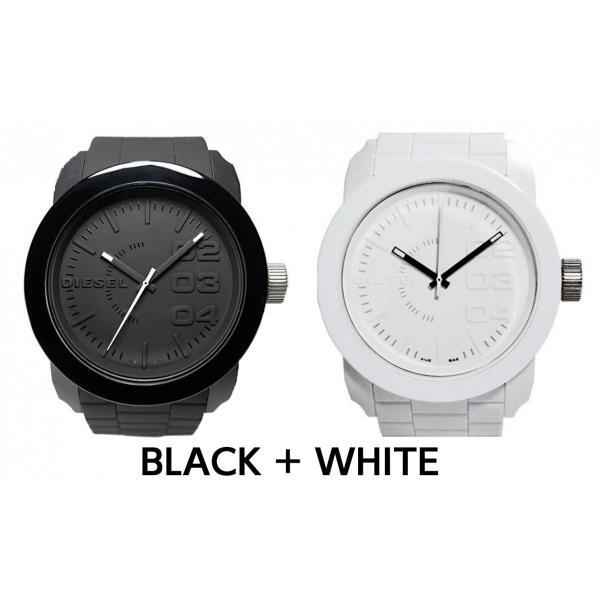 ペア価格 ディーゼル 時計腕時計 DIESEL ペアウォッチ メンズ レディース ホワイト ブラック dz1436 dz1437|watchlist|07