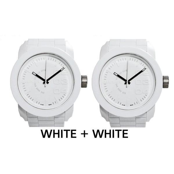 ペア価格 ディーゼル 時計腕時計 DIESEL ペアウォッチ メンズ レディース ホワイト ブラック dz1436 dz1437|watchlist|08