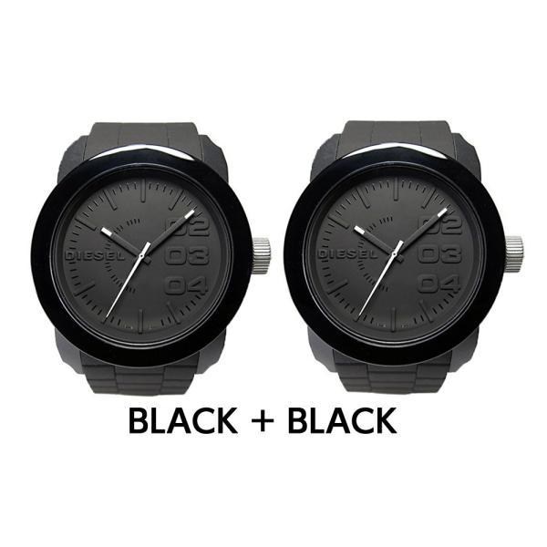 ペア価格 ディーゼル 時計腕時計 DIESEL ペアウォッチ メンズ レディース ホワイト ブラック dz1436 dz1437|watchlist|09