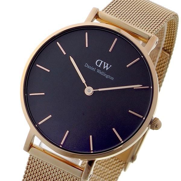 ダニエル ウェリントン クラシックペティート メルローズ/ブラック  レディース 32mm 腕時計 DW00100161 watchlist