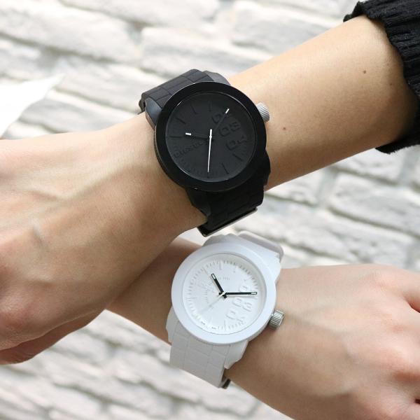 ペア価格 ディーゼル 腕時計 DIESEL ペアウォッチ メンズ レディース ホワイト ブラック dz1436 dz1437|watchlist|03
