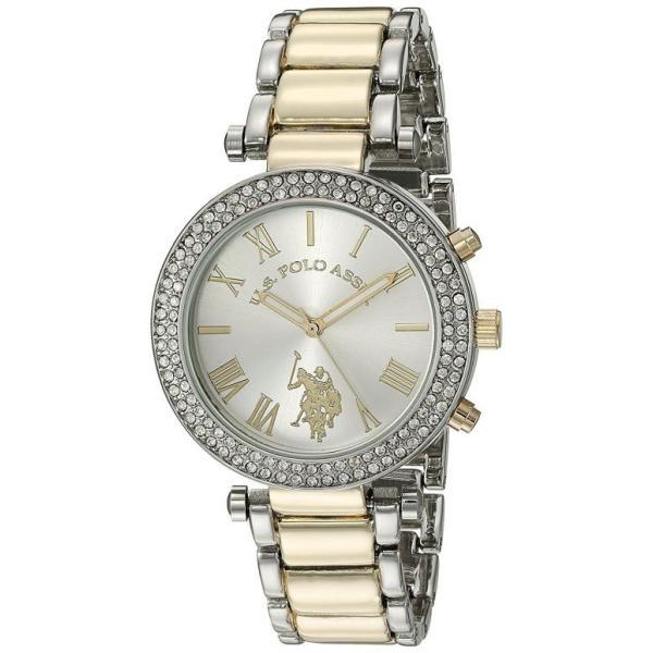 ユーエス ポロ アッスン U.S. Polo Assn. 女性用 腕時計 レディース ウォッチ シルバー USC40171
