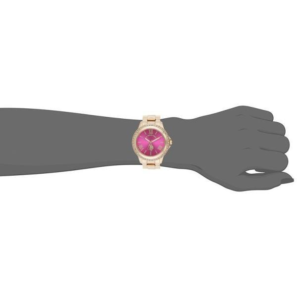 ユーエス ポロ アッスン U.S. Polo Assn. 女性用 腕時計 レディース ウォッチ ピンク USC40080