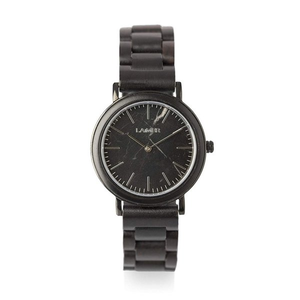 ライマー LAiMER ウッドウォッチ 木製腕時計 女性用 腕時計 レディース ウォッチ ブラック 0071