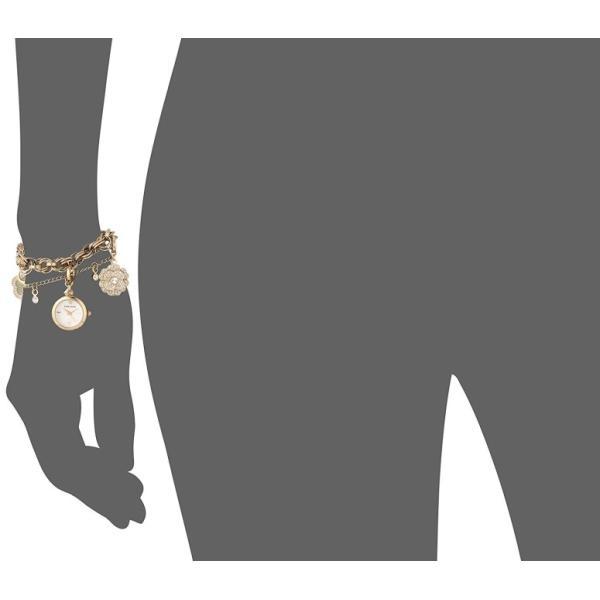 アンクライン Anne Klein 女性用 腕時計 レディース ウォッチ パール AK/3044CHST 女性らしいデザイン かわいい