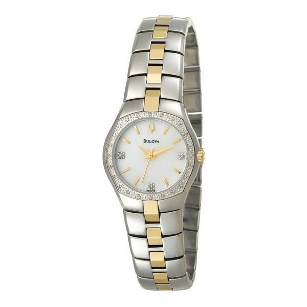 ブローバ Bulova 女性用 腕時計 レディース ウォッチ パール 98R008