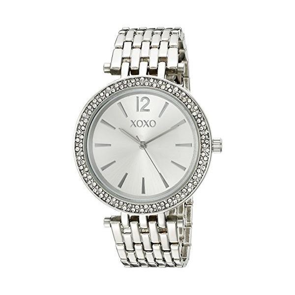 エックスオーエックスオー XOXO 女性用 腕時計 レディース ウォッチ シルバー XO263