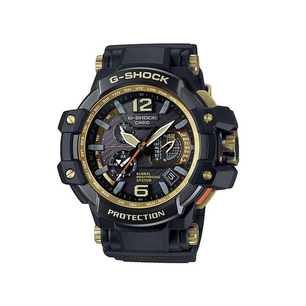 CASIO カシオ G-SHOCK メンズ腕時計 GPSハイブリッド電波ソーラー GPW-1000GB-1AJF 国内正規品 展示処分|watchnet