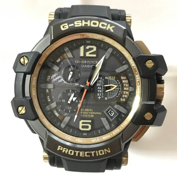 CASIO カシオ G-SHOCK メンズ腕時計 GPSハイブリッド電波ソーラー GPW-1000GB-1AJF 国内正規品 展示処分|watchnet|02