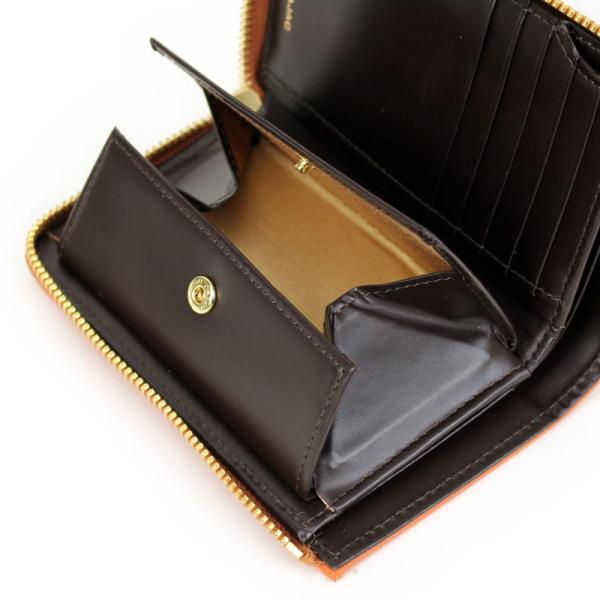 CASTELBAJAC(カステルバジャック) SEST(シェスト) L字ファスナー二つ折り財布 小銭入れあり ミドルウォレット レザー 革小物 027608 送料無料|watermode|04