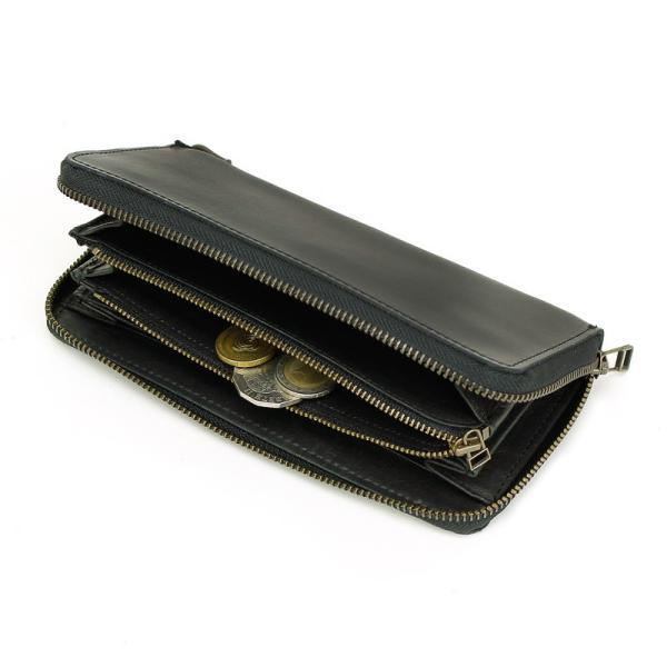 AVIREX(アヴィレックス) BEIDE(バイド) ラウンドファスナー長財布 レザー 革小物 小銭入れあり AVX1806 メンズ 送料無料|watermode|04