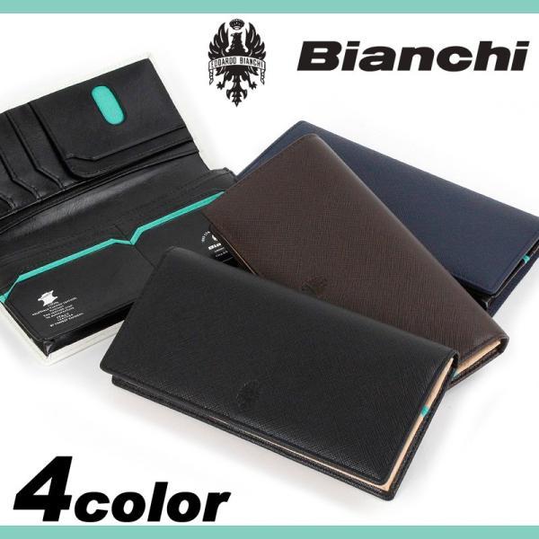 9ead04f2dc91 Bianchi(ビアンキ) franco(フランコ) 長財布 小銭入れあり 財布 さいふ ...