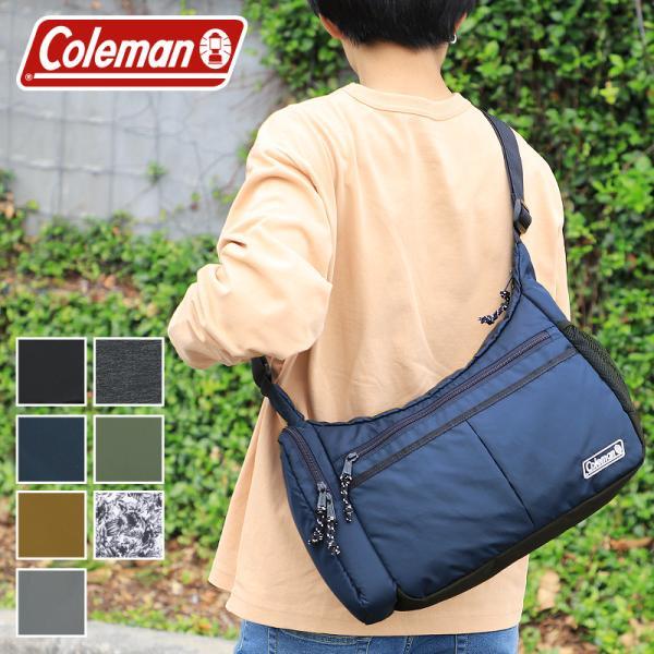 【2020年新色追加】Coleman(コールマン) WALKER(ウォーカー) COOL SHOULDER MD(クールショルダーMD) ショルダーバッグ 8L A4 ボトルクーラー付 送料無料|watermode