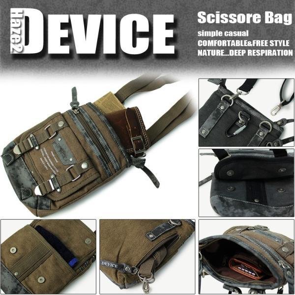 DEVICE(デバイス) Haze2(ヘイズ2) シザーバッグ ウエストバッグ ミニショルダーバッグ 2WAY DCH-30026 メンズ|watermode|02
