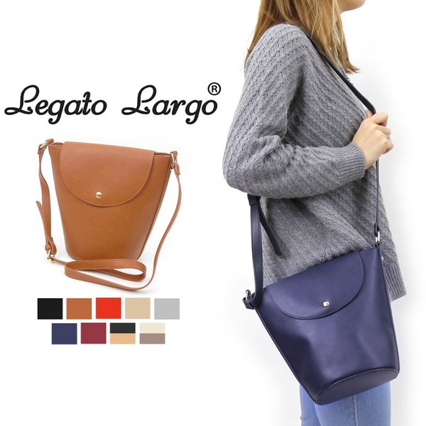 Legato Largo(レガートラルゴ) バケツ型ショルダーバッグ 斜め掛けバッグ LR-C1391 レディース