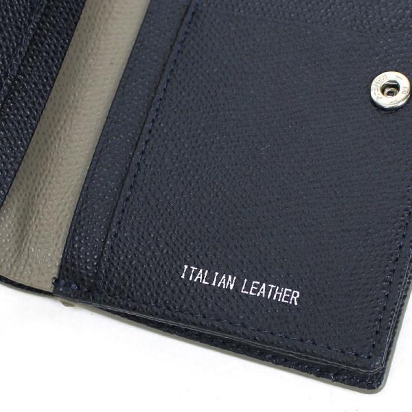 MICHEL KLEIN PARIS(ミッシェルクラン) レリーフ 二つ折り財布 ミドルウォレット 小銭入れあり レザー 革小物 MK073 メンズ 送料無料 watermode 04