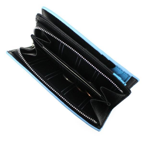 MICHEL KLEIN PARIS(ミッシェルクラン) レリーフ 二つ折り財布 ミドルウォレット 小銭入れあり レザー 革小物 MK073 メンズ 送料無料 watermode 07