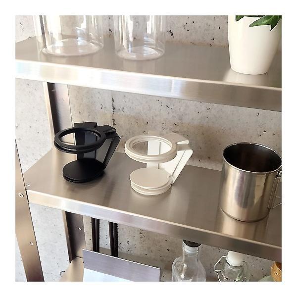 紙コップ おしゃれ コップホルダー カップホルダー 観葉植物 ミニ 鉢 コップホルダーBLACK/WHITE|watex-shop|04