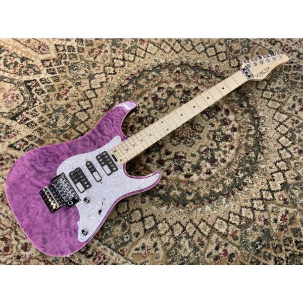 SCHECTER SD-2-24-AL / M 【Purple】 オールマイティーに使える1本!久しぶりの入荷です。【お茶の水駅前店】
