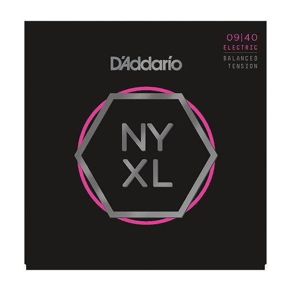 【ネコポス可】【店頭在庫品数量限定即納】D'Addario NYXL0940BT Nickel Wound, Balanced Tension Super Light, 09-40【G-CLUB渋谷】
