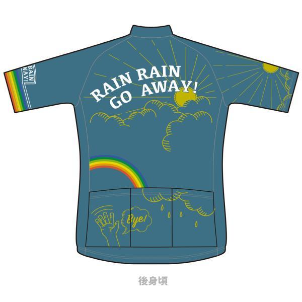 【予約商品・2月上旬発送予定】■半袖ジャージ RAIN RAIN GO AWAY! 予約受付は11/30 23時まで waveone 02