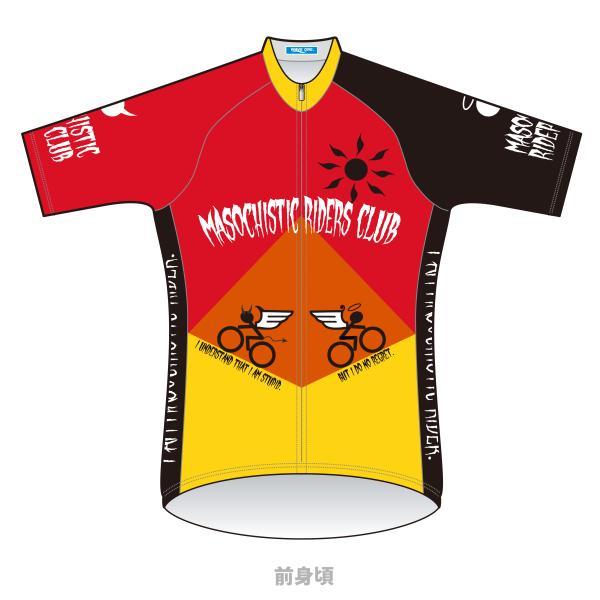 【予約商品・2月上旬発送予定】■半袖ジャージ  Masochistic Riders Club 予約受付は11/30 23時まで|waveone