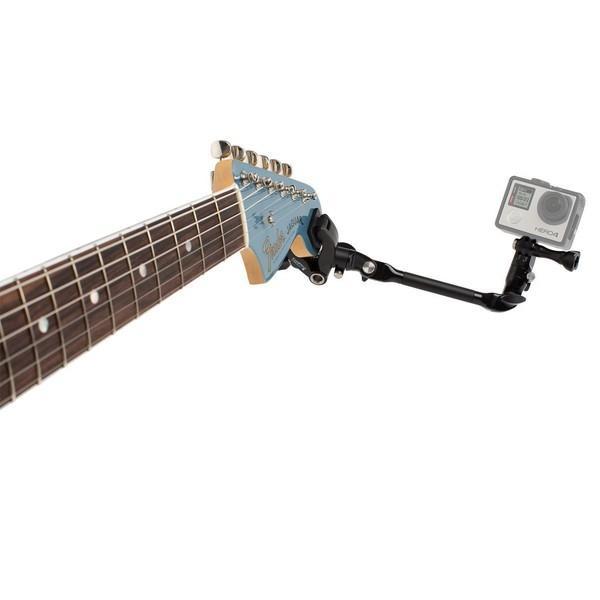 GoPro アクセサリー クランプマウント ゴープロ 8 hero8 MAX 挟む JAM ギター 楽器 ミュージック アクションカメラ|wavy|04