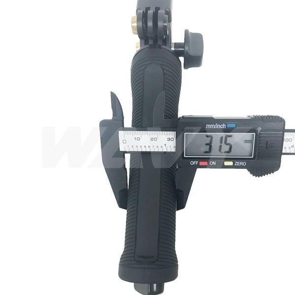 GoPro 8 ゴープロ hero8 MAX 三脚 自撮り棒 ラバーグリップ 3way ラバー ショーティー 変形 安い アクションカメラアクセサリー|wavy|11