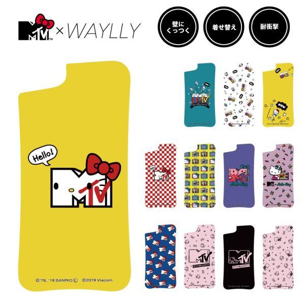ドレッサーのみ iPhone 8 7 XR XS X SE 6s 6 Plus XsMax 11 pro max ケース スマホケース  MTV×ハローキティ 耐衝撃 シンプル くっつく ウェイリー WAYLLY DRR|waylly