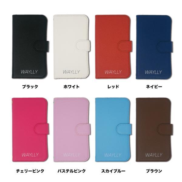 iPhone8 7 6s 6 ケース 手帳型 スマホケース 耐衝撃 シンプル おしゃれ くっつく ウェイリー WAYLLY|waylly|02
