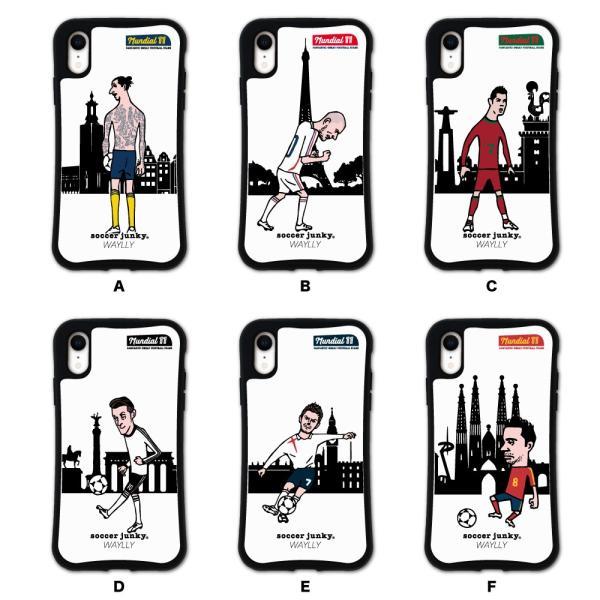 iPhone XR ケース スマホケース サッカージャンキー ジェリー 耐衝撃 シンプル おしゃれ くっつく ウェイリー WAYLLY _MK_ waylly 02